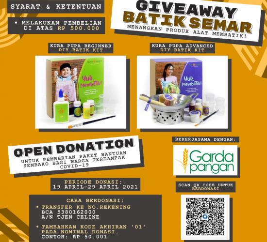 Get Creative with Batik Merchandise