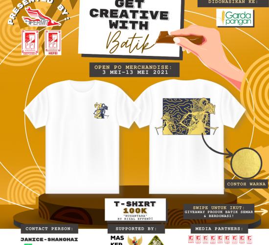 Get Creative with Batik Merchandise Vol.2